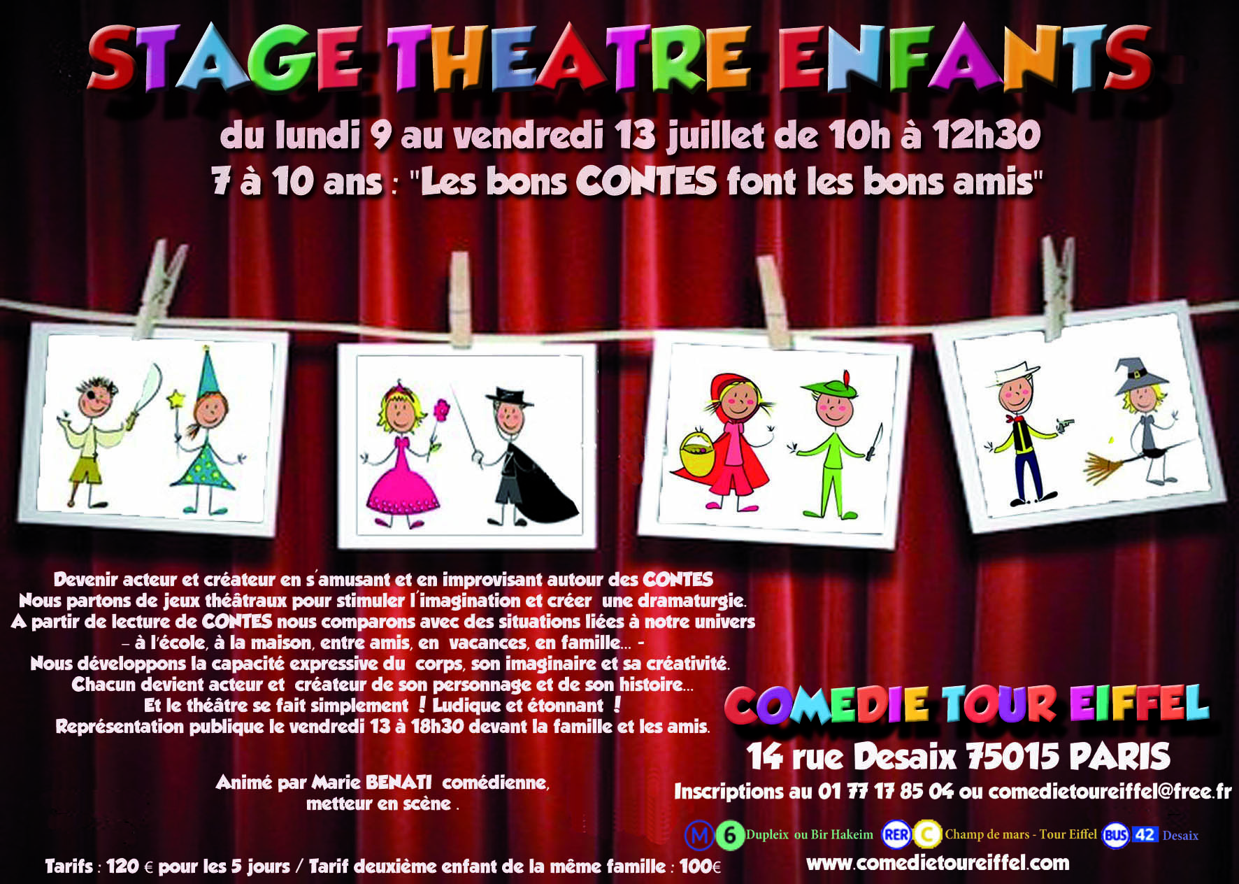 salle spectacle 15eme
